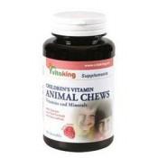 VK Gyerek  vitamin málnás rágótabletta 90 db
