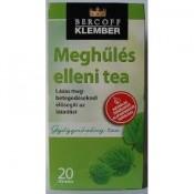 Klember meghűlés elleni tea filteres